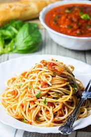 Fresh Basil To Dried Basil Conversion Chart Simple Marinara Sauce Errens Kitchen