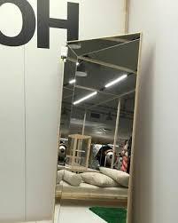 ikea x off white distortion mirror