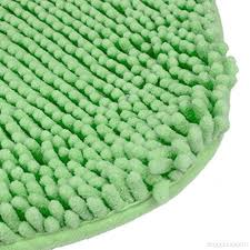 sothread 40x50cm non slip heart shaped bath carpet mats bedroom area rug home decor green b0758fnbgk