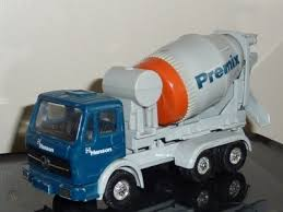 CORGI MERCEDES-BENZ HANSON PREMIX CEMENT MIXER MODEL | #160597026