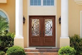 Nice Double Entry Doors With Fiberglass Front Door Tall 80  Mediterranean Centralazdining