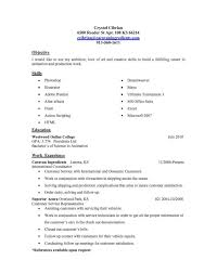 My First Job Resume Examples