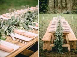 Outdoor Table Decor Table Decor Inspiration For An Outdoor Bohemian Wedding Weddbook