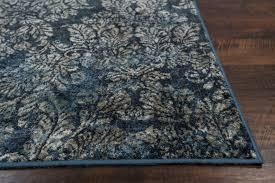provence 8611 slate blue damask