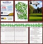 Scorecard - Armitage Golf Club