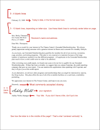 Business Letter Format Cover Letter Haadyaooverbayresort Com