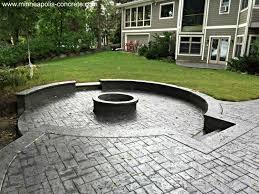 ... Raised Stamped Concrete Patio Luxury Home Design Contemporary To Raised  Stamped Concrete Patio Interior Design ...
