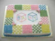 Baby shower cake! For girls.   Pregnancy   Pinterest   Shower ... & Pregnancy   Pinterest   Shower cakes, Cake and Babies Adamdwight.com