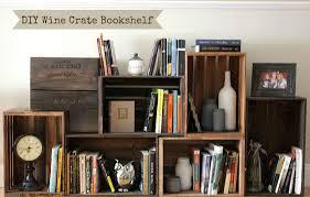 wooden crate bookshelf diy big amazing wood plans
