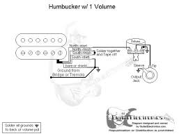 guitar wiring diagram 1 pickup 1 volume guitar single humbucker wiring diagram single wiring diagrams on guitar wiring diagram 1 pickup 1 volume