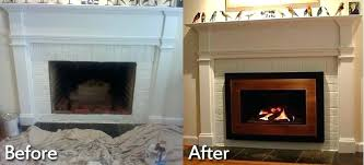 cost to install fireplace stunning decoration how