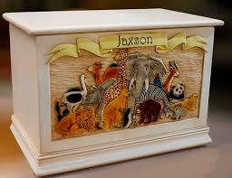 personalized children s toy chest personalized toy box kids room decor
