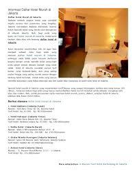 Ancol Mansion Pacific Ocean 50i 2 Hotel Di Jakarta Hotel Murah Di Jakarta Hotel Jakarta By