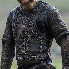 ragnar costume from season 2 leather vest with chainmail shirt ragnar lothbrok
