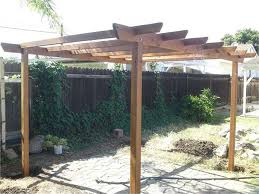 This is a stand-alone pergola. If you would like to create an intimate  sitting area in the middle of your backyard, a pergola is a great way to  accomplish ...