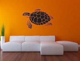 sea turtle wall decal nautical