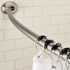 maytex curved smart rod tension shower bar