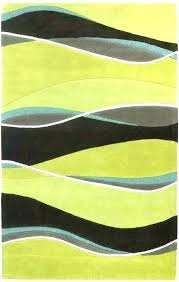 lime green area rugs black and