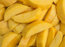 Image result for images of mango pieces in plate