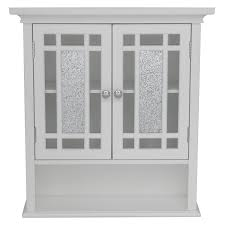 White bathroom wall cabinets Shaker Style Amazoncom Elegant Home Fashions Elg527 Whitney Wall Cabinet With Doors And Shelf Kitchen Dining Amazoncom Amazoncom Elegant Home Fashions Elg527 Whitney Wall Cabinet With