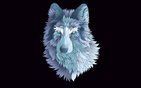 Abstract Wolf Wallpapers