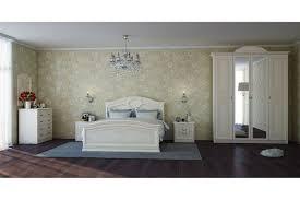 Italienisches Schlafzimmer Komplett Clivia 6 Teilig In Beige