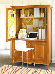 diy home office. Revamped Armoires For Small-Space Storage With A New Look Diy Home Office
