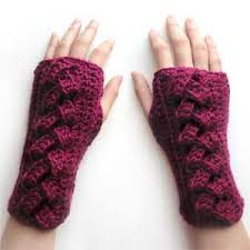 Crochet Gloves Pattern Delectable Crochet Spot Blog Archive Fingerless Glove Crochet Patterns