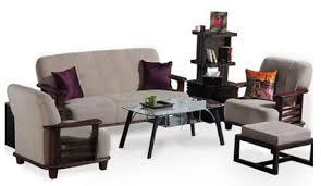 moscow teakwood sofa set with cream