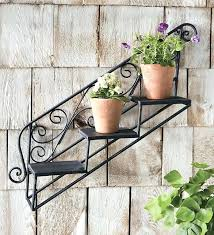 hanging plant stands outdoor wrought iron plant hanger unique and beautiful wrought iron plant stands outdoor
