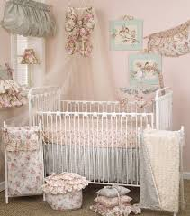 nursery lighting ideas. Pretty Round Wooden Canopy Bed Cute Nursery Ideas For Baby Boy Polka Dot Bumper Lighting Chadelier White Fitted Sheet N