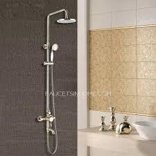 bronze bathroom shower fixtures oil rubbed bronze two handle tub shower faucet
