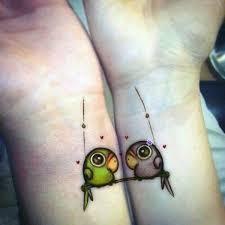 20 Nápadů Na Tetování Pro Zamilované Páry Electropiknikcz