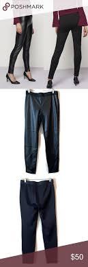 Karl Lagerfeld Paris Faux Leather Pant Size Small Karl