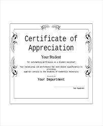Appreciation Award Template 6 Free Pdf Documents Download