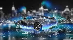 3d Wallpaper Widescreen Water Cars ...
