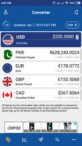 Xe Exchange Rate Chart Xe Currency Converter Money Transfers Free Download