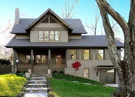 craftsman double front door. House Color Schemes Exterior Craftsman With Beige Sidinig Double Front Doors Door
