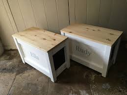 the hinged lid toy bench toy chest both come with a beautiful varnished or painted soft close solid wood hinged top these practical hand made pieces of