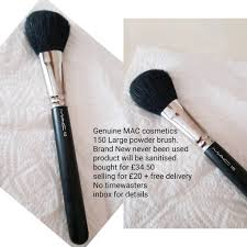 genuine mac cosmetics powder brush