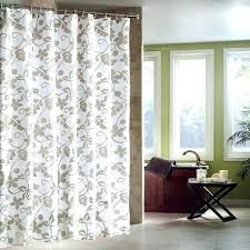 hookless shower curtain extra long white fabric curtains and liner set get ations a bathrooms good
