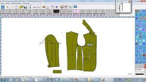 Cad Cam Computer Pattern Designing Winda Cad For Pattern Design