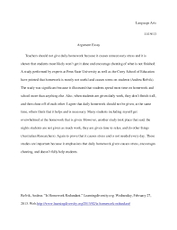 persuasive essay on stress