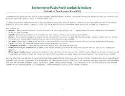 Personal Leadership Development Plan Template Sample Free