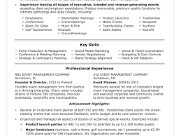 Event Manager Resume Event Planner Cover Letter Elegant Events Manager Resume Sample 84