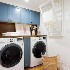 laundry room fold down drying rack