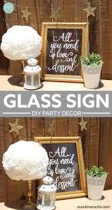 Diy Wedding Glass Sign Senal Vidrio Avanti Morocha Welcome Weddings Sarah Types Decor Most Delightful Way Budget Sarahtypes Hand Lettered Avantimorocha Wp Content