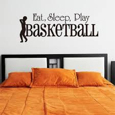 3d sleep play basketball wall sticker es art home decor art decals kids boy room decor wall stickers for boys rooms vinyl wall stickers decals vinyl