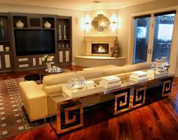 trendy living room furniture. contemporary apartment modern living room furniture with mirror surface trendy