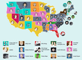 The Most Popular Music Genre In Every U S State